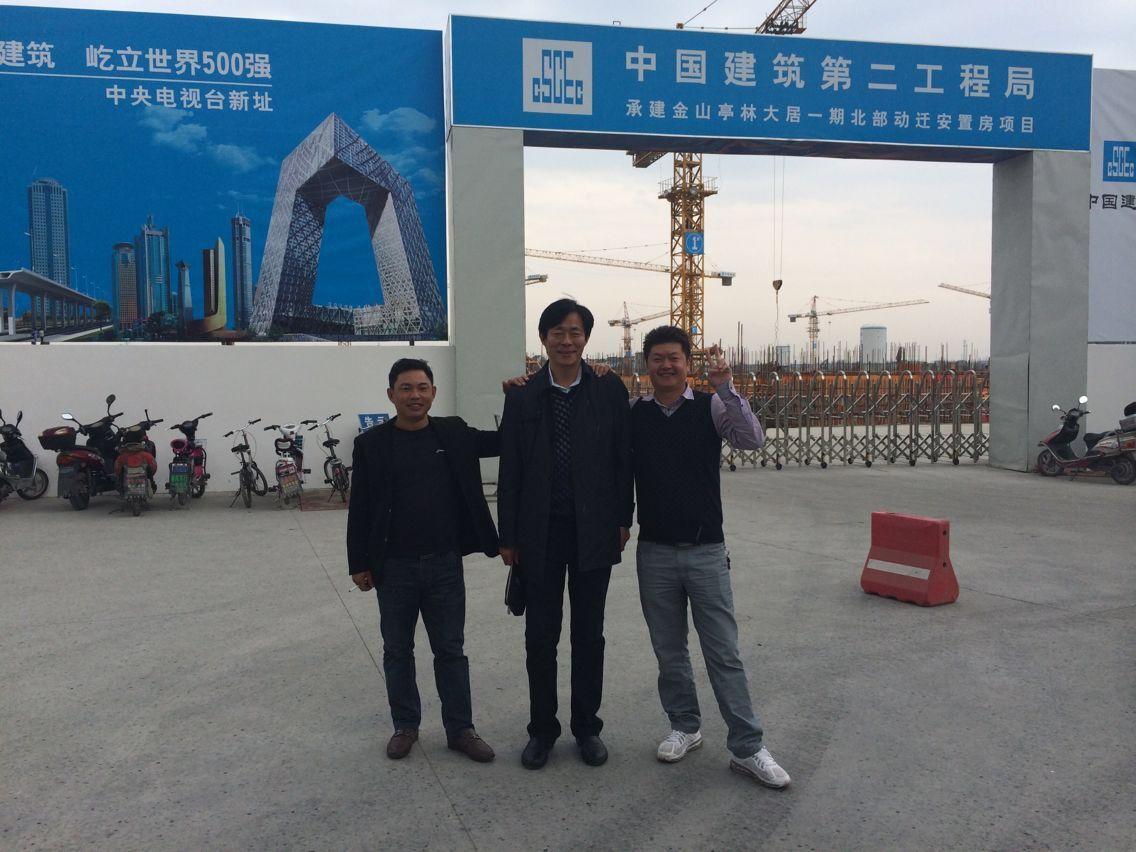 中国建筑二局上海工程2013年采用焰鑫金属(合源)脚手架!