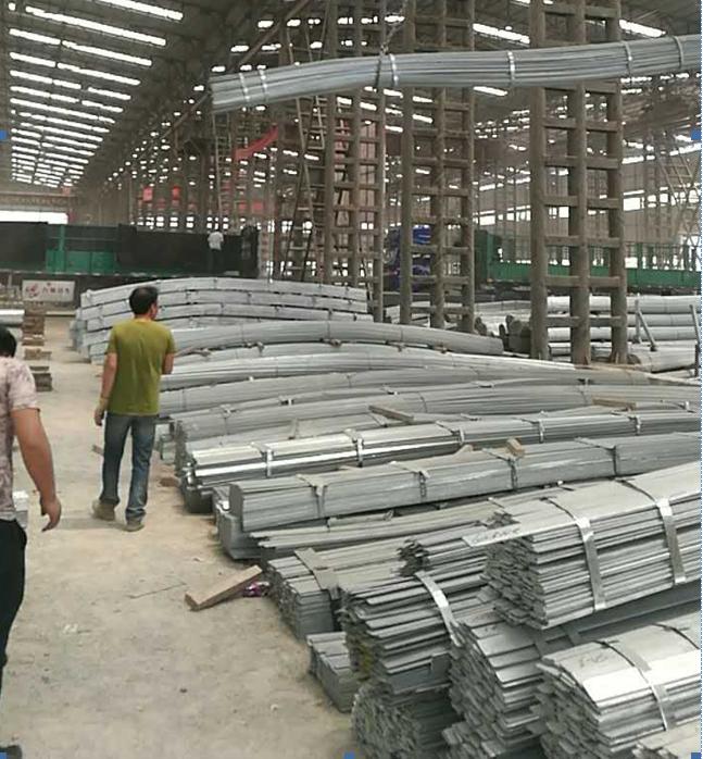 焰鑫森域青海首信建设工程有限公司采购扁钢案例