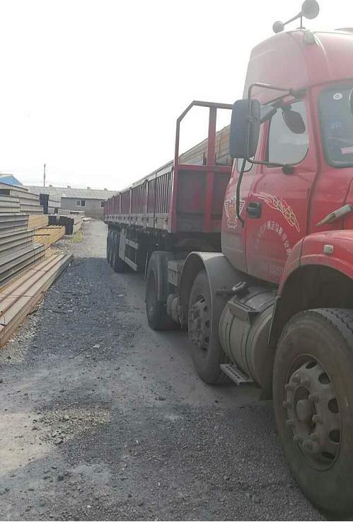 中鸿焰鑫森域150*150H型钢安全发往江苏,您准备接货吧!