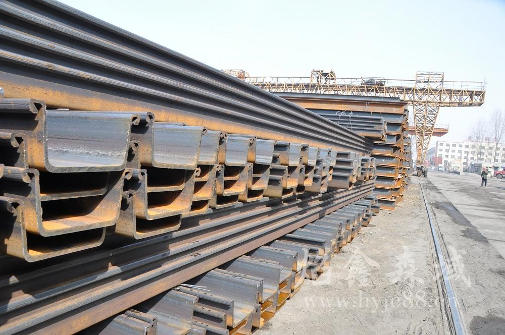 重庆拉森钢板桩的优点及应用简述